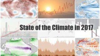 ग्लोबल वार्मिंग: अब तक का तीसरा सबसे गर्म साल रहा 2017