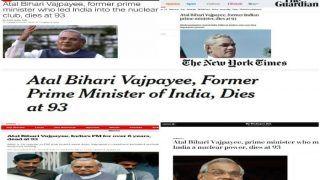 अटल युग का अवसान: अमेरिकी मीडिया ने भारत रत्न वाजपेयी को ऐसे दी श्रद्धांजलि