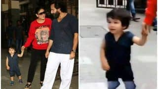 Taimur Ali Khan Walks Out of Cousin Inaaya Naumi Kemmu's House Holding Kareena Kapoor Khan's Hand And His Smile is to Die For