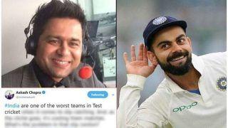 टीम इंडिया को 'फिसड्डी' बताकर ट्रोल हुए आकाश चोपड़ा
