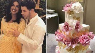 यही है प्रियंका चोपड़ा और निक जोनस की सगाई पर कटने वाला केक! अब इस दिन करेंगे शादी!!