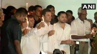 Muzaffarpur Shelter Home Case: Show of Oppn Unity at Tejashwi's Protest, Rahul Asks Nitish to Take Action 'if he's Really Ashamed'