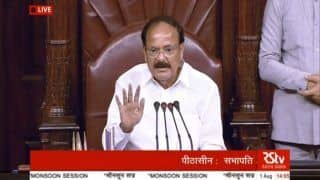 Rajya Sabha Chairman Venkaiah Naidu Announces Extended Weekend Break For Christmas