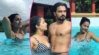 बॉयफ्रेंड के साथ पूल में उतरीं हिना खान..आप भी देखें उनकी ये हसीन तस्वीरें..