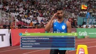 Asian Games 2018: After Women's Gold, Men's TeamWin Silver in 4x400 Relay to Square Off Athletic Events