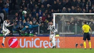 Champions League: Cristiano Ronaldo's Bicycle Kick Against Juventus Nominated for UEFA Goal of the Season