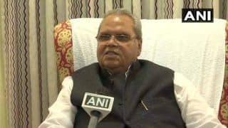 Jammu And Kashmir Governor Satya Pal Malik Hints of Being Transferred, Says Threat Looms Large
