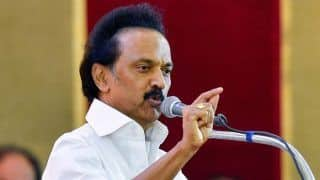 Tamil Nadu: MK Stalin Slams AIADMK Govt After Fall of Illegal Banner Causes Woman's Death
