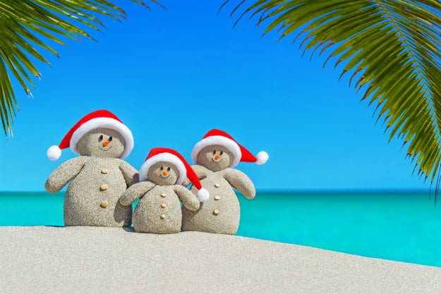 countries that celebrate christmas in summer