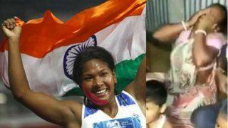 Virender Sehwag Shares an Emotional Outburst Video of Swapna Barman's Mother After Her Daughter's Gold Win, Watch