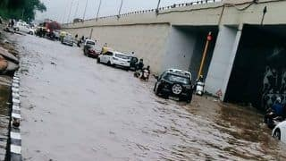 Moderate Rains Lash Delhi, NCR; Traffic Jams, Waterlogging Reported in Several Areas