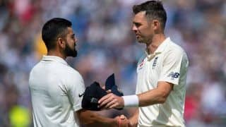 James Anderson Reacts on Getting Virat Kohli For a Golden Duck at Trent Bridge