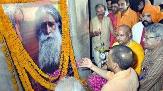 यूपी के सीएम योगी ने हिंदू संतों को दी सलाह, कहा- कम से कम पांच गाय या बैल पालें