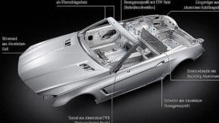 2012 Mercedes Benz SL-class to shed more weight