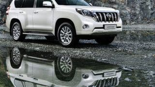 2014 Toyota Land Cruiser Prado launched in India at Rs 84.87 lakh