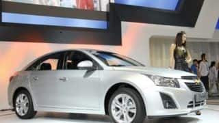 Facelifted Chevrolet Cruze breaks cover at Busan Motor Show