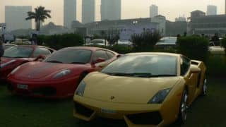 2012 Parx Supercar Show hosts Ferraris Lamborghinis among others