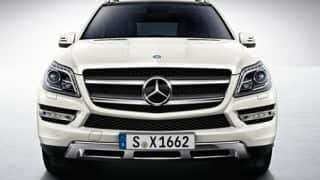 2013 GL-Class SUV now available on Mercedes Benz India's website