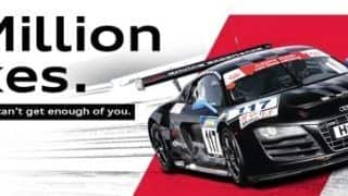 Audi India reaches new heights and Likes on Facebook