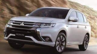 2016 Mitsubishi Outlander PHEV facelift officially unveiled