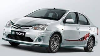 Sporty-looking Toyota Etios TRD Sportivo Limited Edition launched