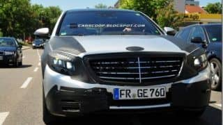 New 2013 Mercedes-Benz S Class spied again
