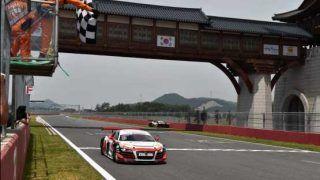 Audi R8 LMS Cup Korea: Audi India racer Aditya achieves podium finish after tough fight