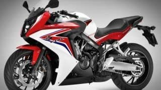 Honda CBR 650F Launched: Price in India starts at INR 7.31 lakh