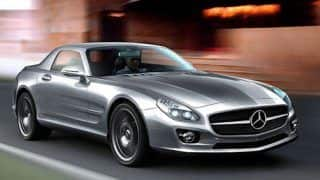 Mercedes baby SLS AMG sportscar coming in 2014