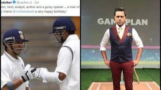 Asia Cup 2018: India vs Pakistan -- Sachin Tendulkar Posts Rahul Dravid's Picture While Wishing Happy Birthday to Aakash Chopra -- WATCH