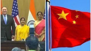 चीन ने की भारत-अमेरिका टू प्लस टू बातचीत की तारीफ, रक्षा समझौते पर चुप्पी