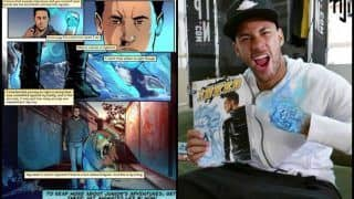 Neymar Launches Comic Book Series Starring Supernaturally Tattooed Doppelganger -- WATCH