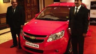 2012 Chevrolet Sail U-VA launched in India at Rs 4.44 lakh
