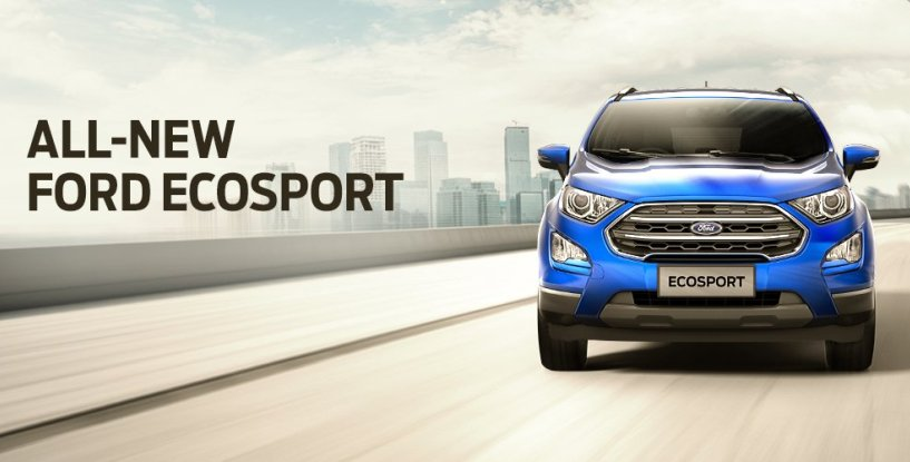 All-New Ford EcoSport to be available exclusively for online bookings on Amazon India from November 5
