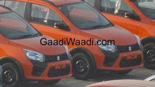 Maruti Suzuki Celerio X Cross Spied at Dealership Yard; India Launch Imminent
