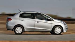 Honda Amaze to be launched today