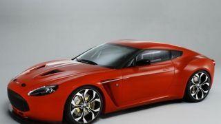 Aston Martin V12 Zagato uncovered