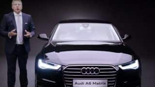 2015 Audi A6 Matrix Launched: Price in India starts at INR 49.5 lakh