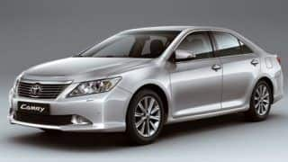 2012 Toyota Camry to arrive in India next week