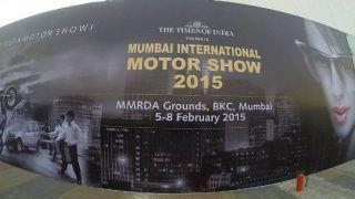 Mumbai International Motor Show 2015: Amitabh Bachchan and the Shamitabh team inaugurates this year's MIMS