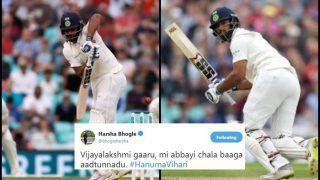 India vs England 5th Test Day 3 Kenington Oval: Twitter Praises Debutant Hanuma Vihari For Getting His Maiden Half-Century