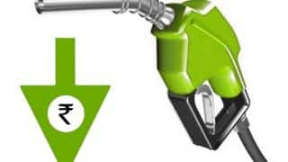 Petrol prices dropped by a Rupee