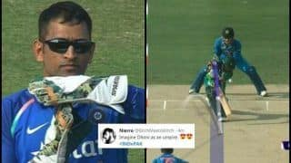 India vs Pakistan, Asia Cup 2018 Super Four: Mahendra Singh Dhoni Pushes Rohit Sharma to go For Review, Gets it Right Again, Twitter Hails 'Dhoni Review System'