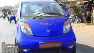 Exclusive: 2013 Tata Nano caught on test!