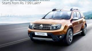 Renault India offers discount benefits up to INR 51,000 on Duster, Scala and Pulse