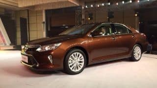 Toyota India Claims, Over 80% of Camry Sold in India are Hybrid Versions