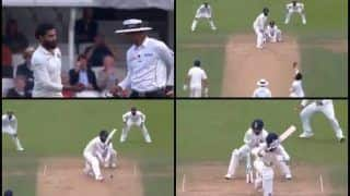 India vs England 5th Test Day 3 Kenington Oval: Ravindra Jadeja Bamboozles Moeen Ali to Get Him bowled After Virat Kohli Wastes Review on Keaton Jennings -- WATCH