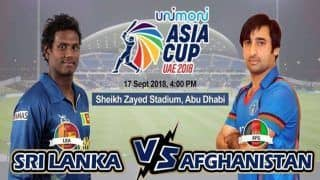 Asia Cup 2018 Sri Lanka vs Afghanistan 3rd ODI Live Streaming: When And Where to Watch