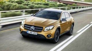 2017 Mercedes-Benz GLA unveiled in Detroit; images, features & specifications
