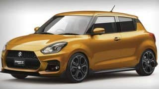 (Maruti) Suzuki Swift Sport 2017 images spied; India bound